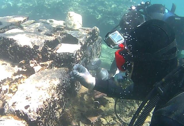 Συντήρηση βυθισμένης ρωμαϊκής έπαυλης στην αρχαία Επίδαυρο