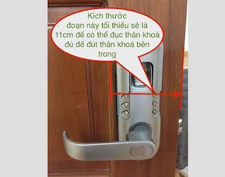 lắp đặt khóa cửa vân tay như thế nào