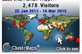 Visitors to our Blog Jan 2013- March 2015
