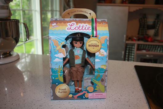 Paleo in Pop Culture - Lottie the Fossil Hunter Doll