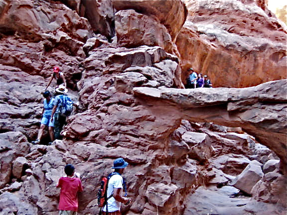 Travel With Whippets: Fiery Furnace Hike - Arches National ...