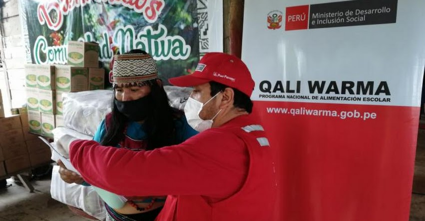 QALI WARMA: Programa social atiende con servicio alimentario a cerca de 170 mil escolares de comunidades indígenas en el país - www.qaliwarma.gob.pe