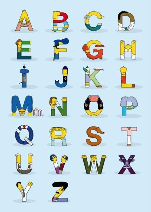 Alfabeto simpson
