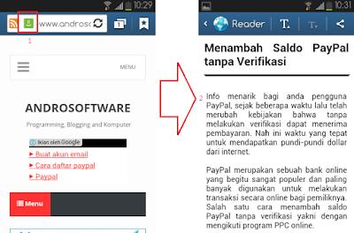 Cara Membaca Artikel Blog Tanpa Iklan di HP Android