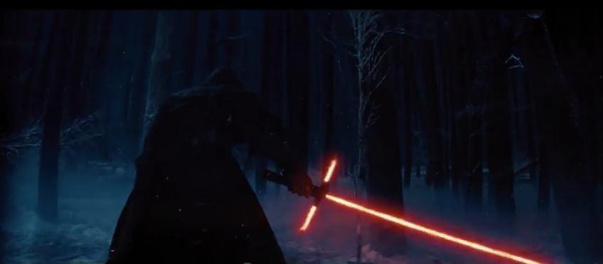 un jedi et son sabre laser