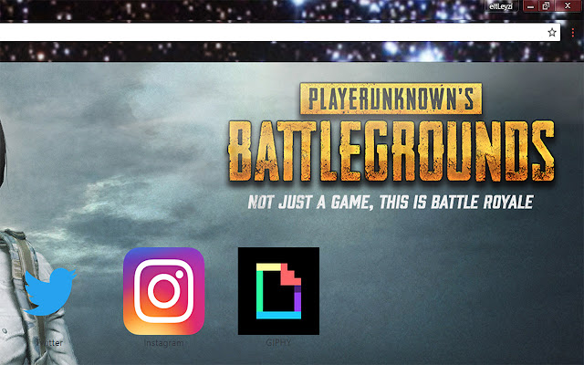 PLAYERUNKNOWNS BATTLEGROUNDS PUBG Download Free Theme FOR Chrome