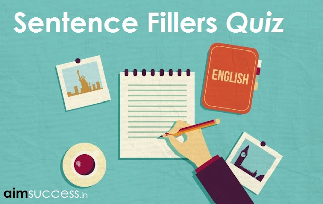 Sentence Fillers for SBI PO/Clerk 2018: 23 May