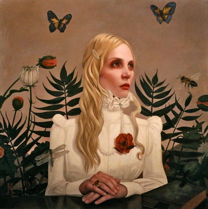 Современный американский художник. Kris Lewis