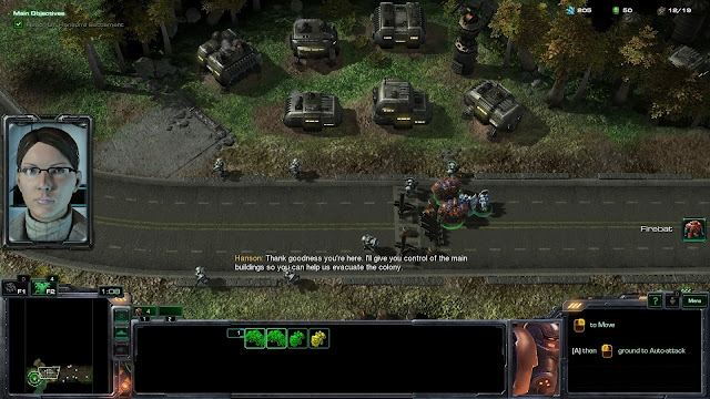 StarCraft 2: Legacy of the Void Mission 1