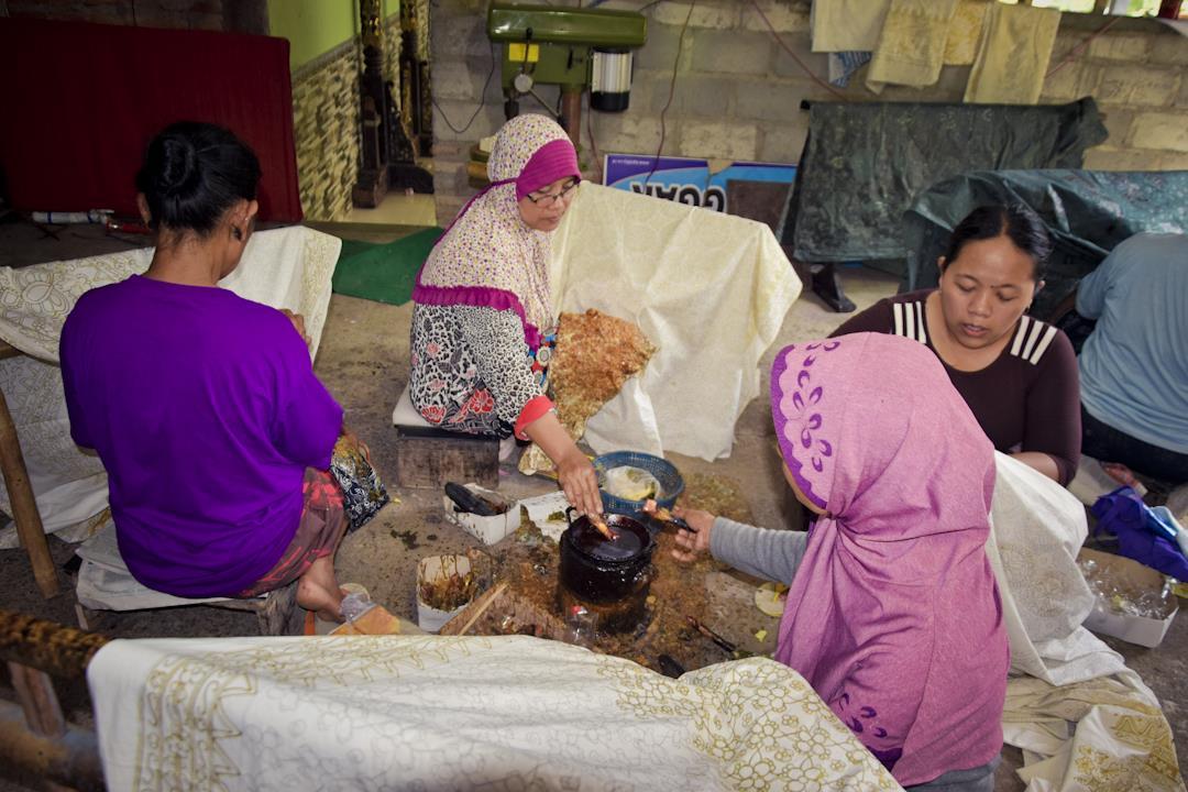 Melihat Proses Pembuatan Batik di Gedangsari Yogyakarta