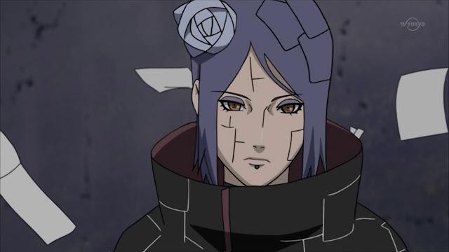 Naruto Karakter - Kumpulan Foto Konan dan Fakta tentang Konan
