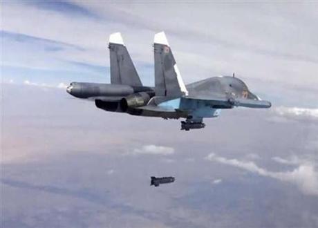 Jets Tempur Rusia Hancurkan Pusat Pelatihan ISIL