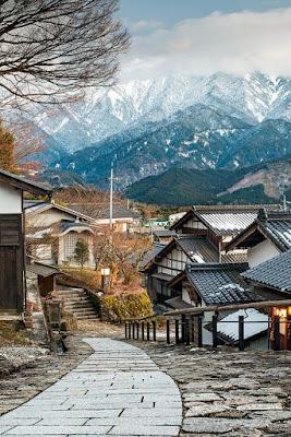 keindahan alam dan budaya di Jepang