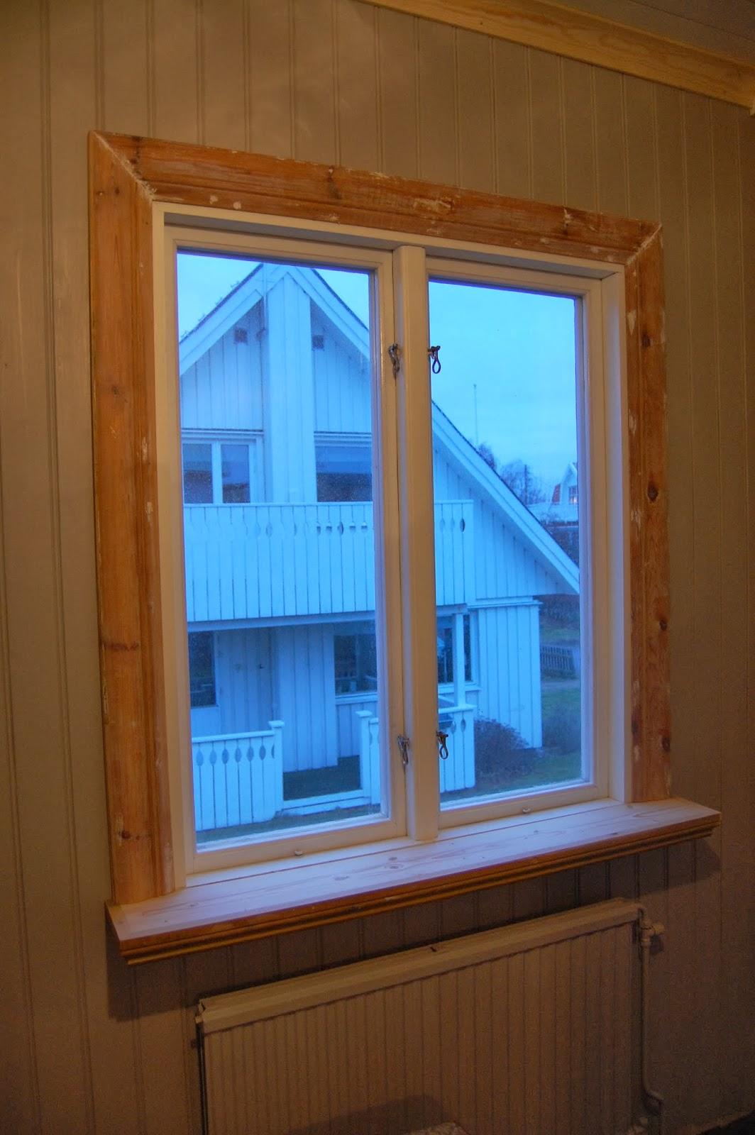 byta fönsterfoder utvändigt