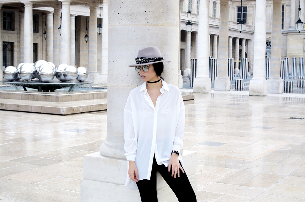 Elizabeth l Oversized white shirt outfit l blog mode Missguided Asos Zara l THEDEETSONE l http://thedeetsone.blogspot.fr