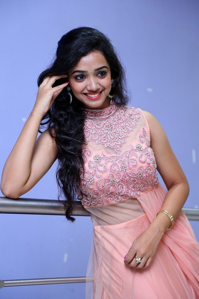 Actress Meghna Mandumula at Gulal Motion Poster Launch Stills