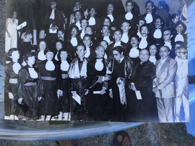 Graduação da turma Medicina 1978.1