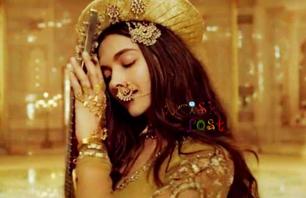 Jewellery design of Deepika Padukone in Bajirao Mastani song
