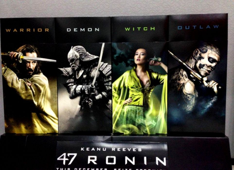 47 RONIN MOVIE POSTER 2 Sided ORIGINAL FINAL RATED 27x40