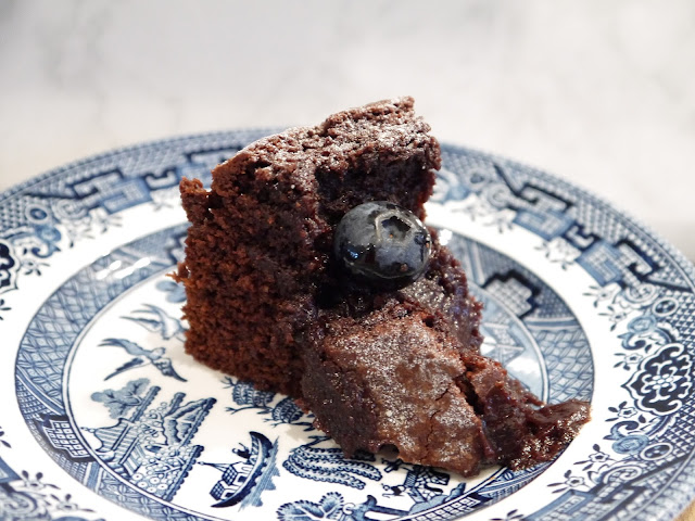 Swedish Kladdkaka Sticky Chocolate Cake The Betty Stamp