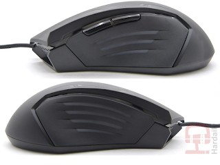 review gx12, review Hardaily.com, dpi, mouse gaming, raton gaming, ratón gx12, 2.400dpi, retroiluminado, on the fly, sensor avago, tecnología omron, raton ambidiestro