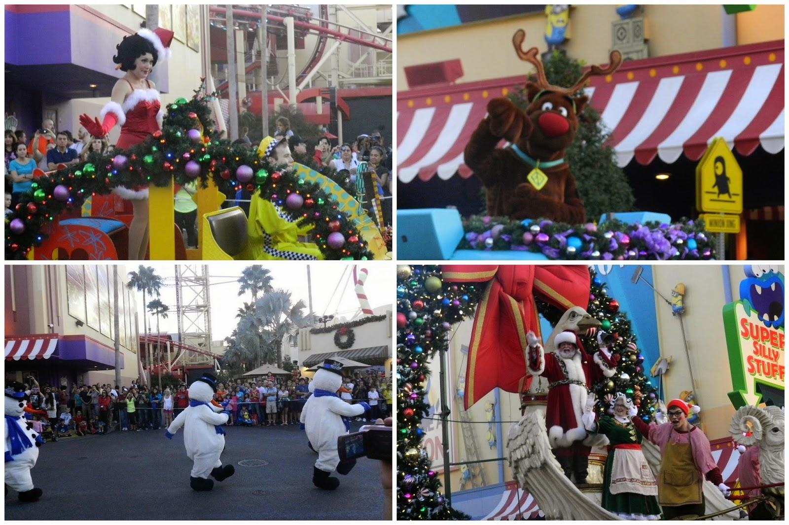 Universal Studios Macy's parade
