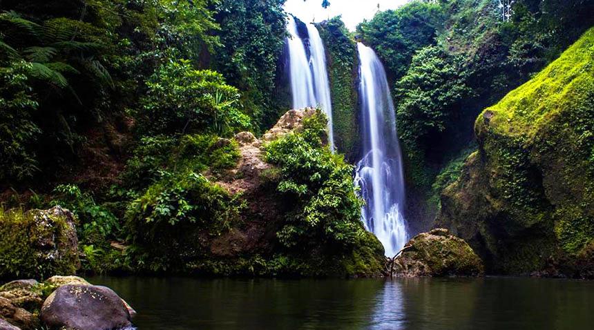 Air Terjun Blang Kolam wisata Indonesia hutan rumput indha