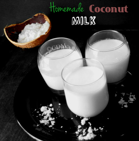 How to make/extract homemade coconut milk in Kerala style|To make ...