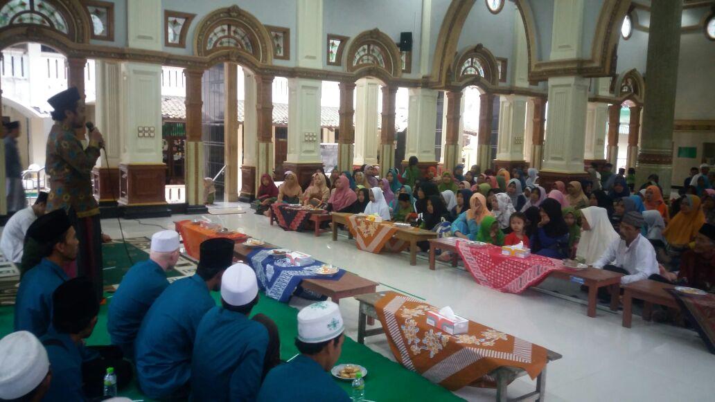 Kunjungan TPQ Syamsul Arifin dari Kebumen