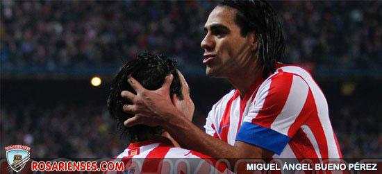 Falcao ya suma 50 goles con el Atlético | Rosarienses, Villa del Rosario