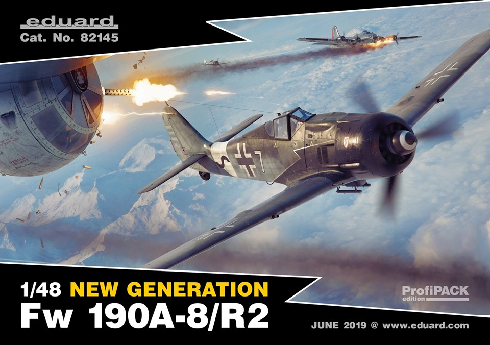FalkeEins - My Modelling Blog: Eduard & Revell new issue Fw 190 A-8/R2