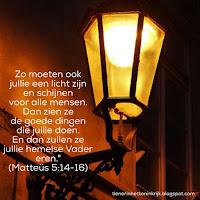 Licht - Mattheus 5:14-16