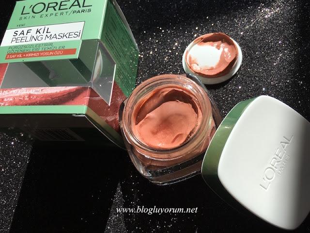 loreal paris skin expert saf kil peeling maskesi