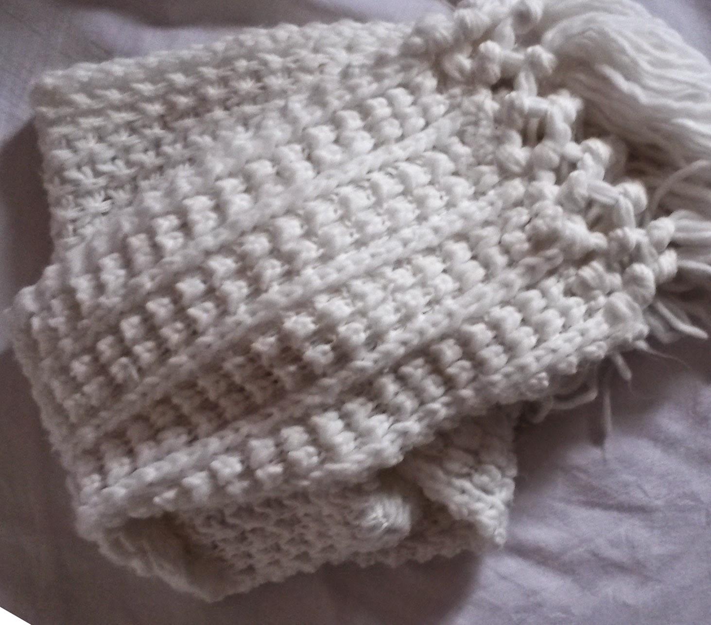 grosse écharpe laine etam