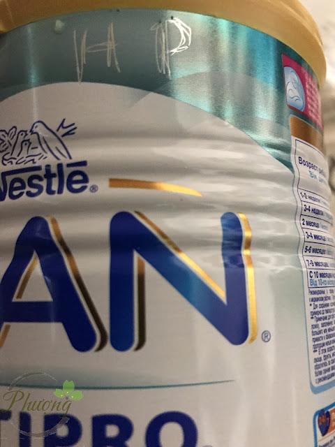 Nhận order sữa NAN Nga các loại chính hãng