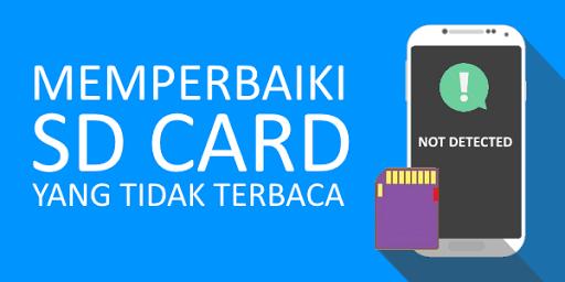 Cara Memperbaiki Memory Card yang Rusak Total dan Tidak Terbaca