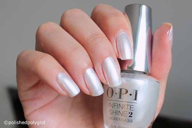 OPI Breakfast at Tiffany's Holiday Girls love pearls