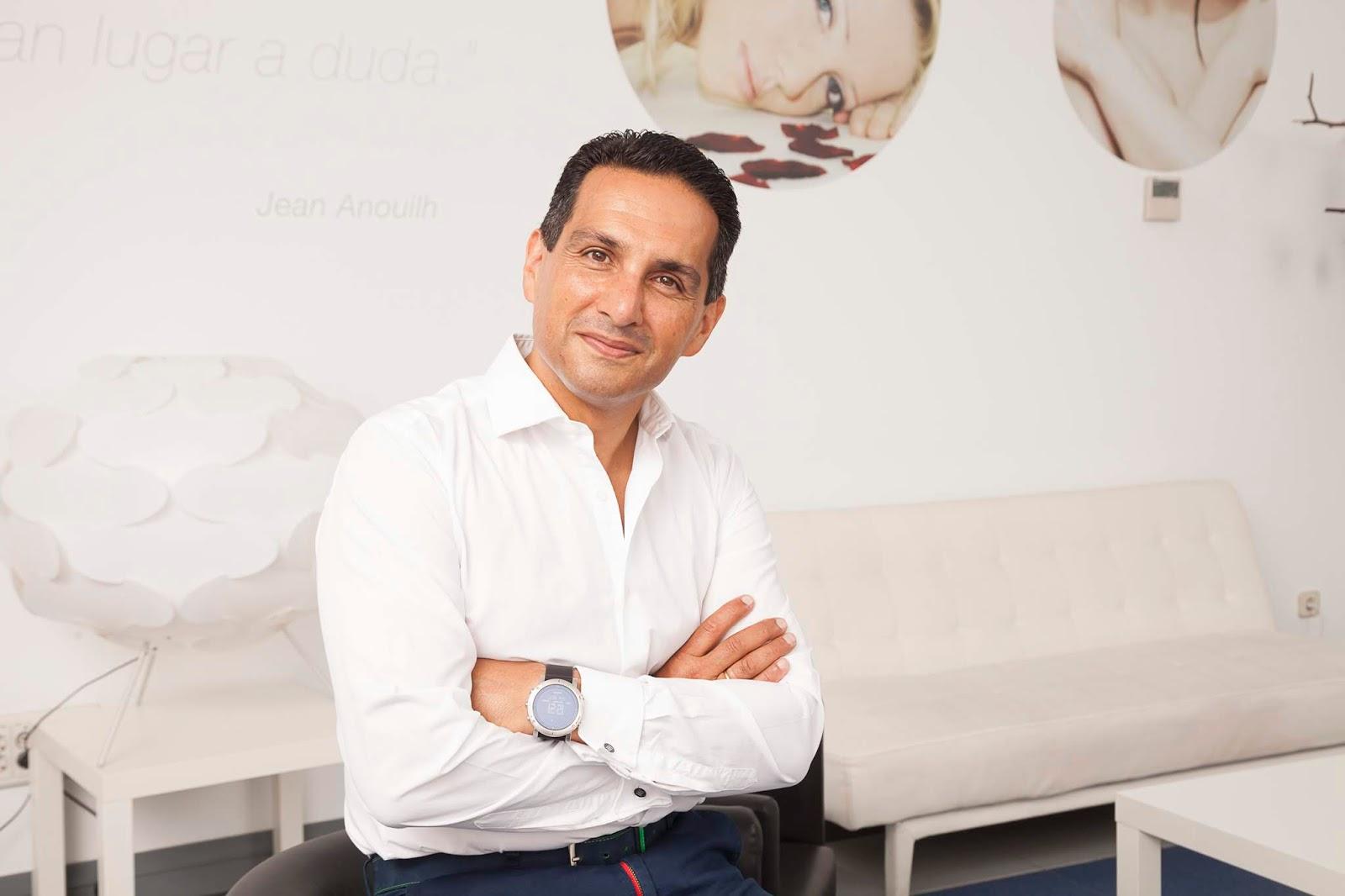 El confundador de Medicina Estética ERES, el doctor Amir Tarighpeyma