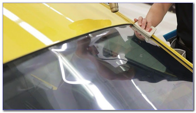 Repair WINDOW TINT Bubbles