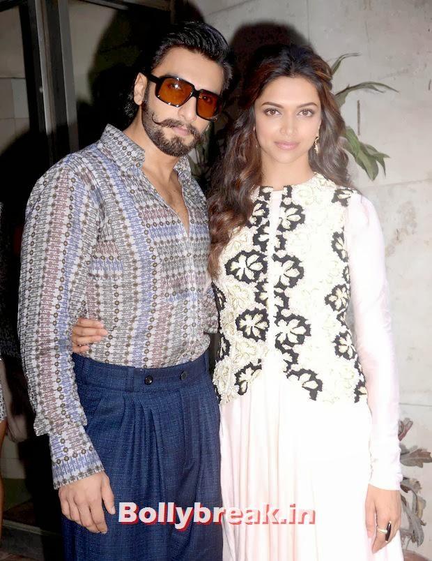 Ram Leela Looking Hot,  Ranveer Singh, Deepika Padukone Together: Ram Leela Promotions