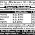 The City Science College (Girls) Kasur Jobs