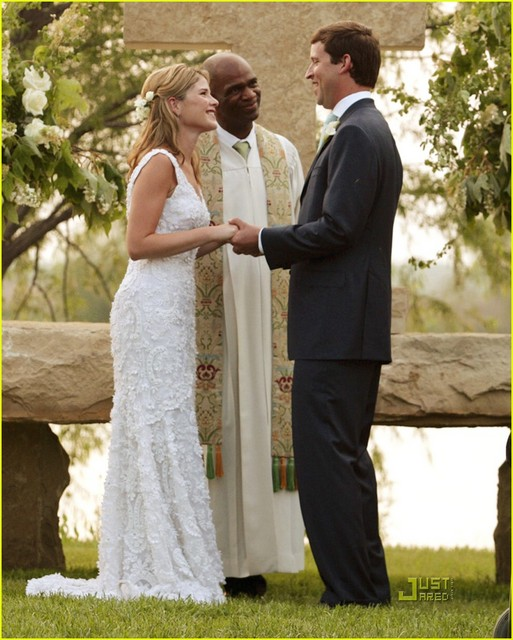 Trisha wilson wedding