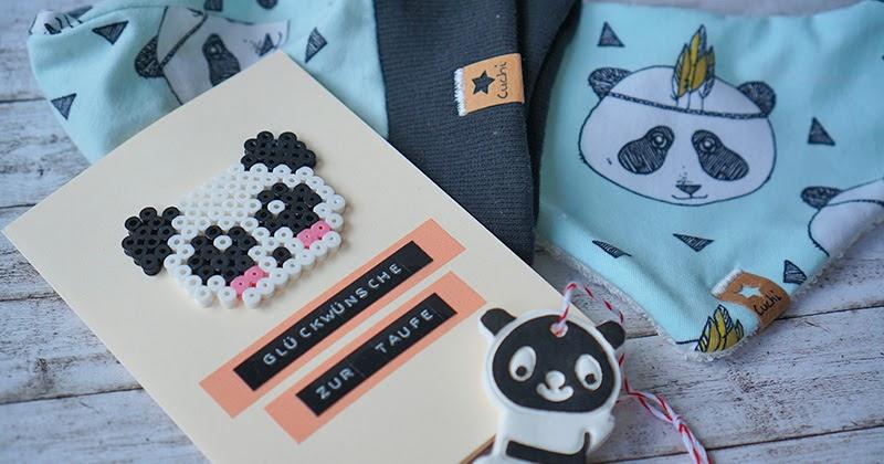cuchikind diy blog basteln und n hen f r kinder diy geschenkeset panda. Black Bedroom Furniture Sets. Home Design Ideas