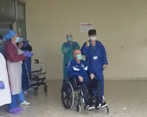 """José Luque """"Canito"""" recibe el alta hospitalaria"""