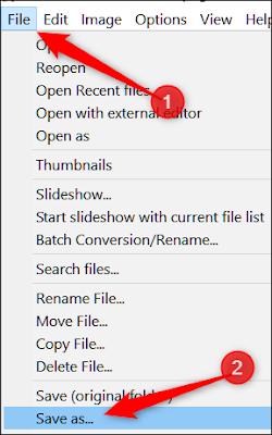 طريقة تحويل الصور إلى PNG بدون برامج في ويندوز