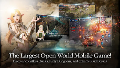 Lineage2 Revolution Mod Apk Android English Version 0.16.05