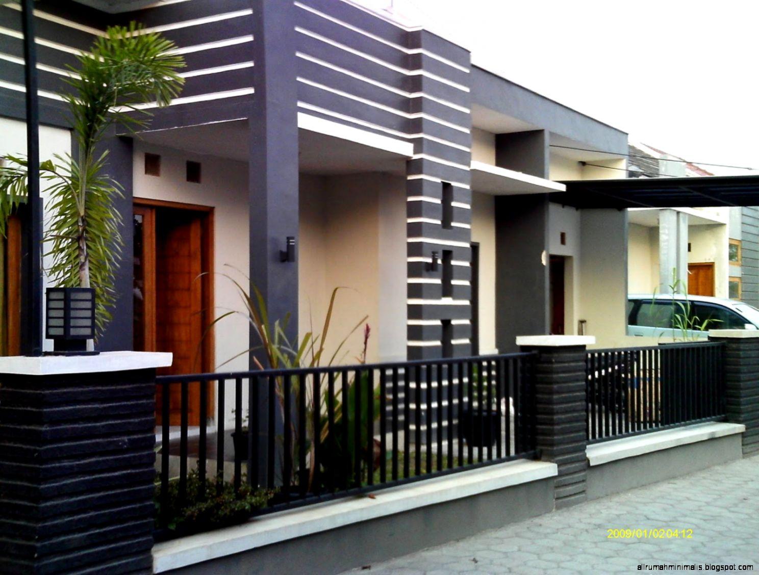 Desain Pagar Rumah Minimalis Terbaru | Design Rumah Minimalis