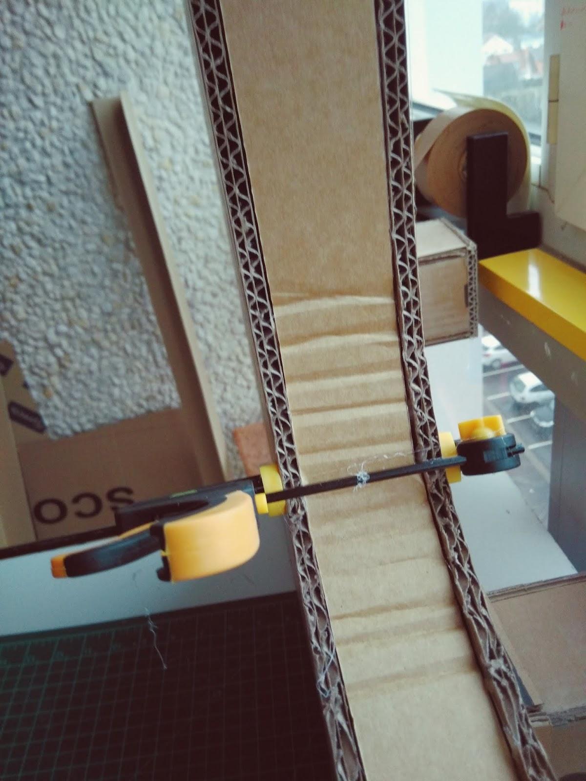fabrication table en carton