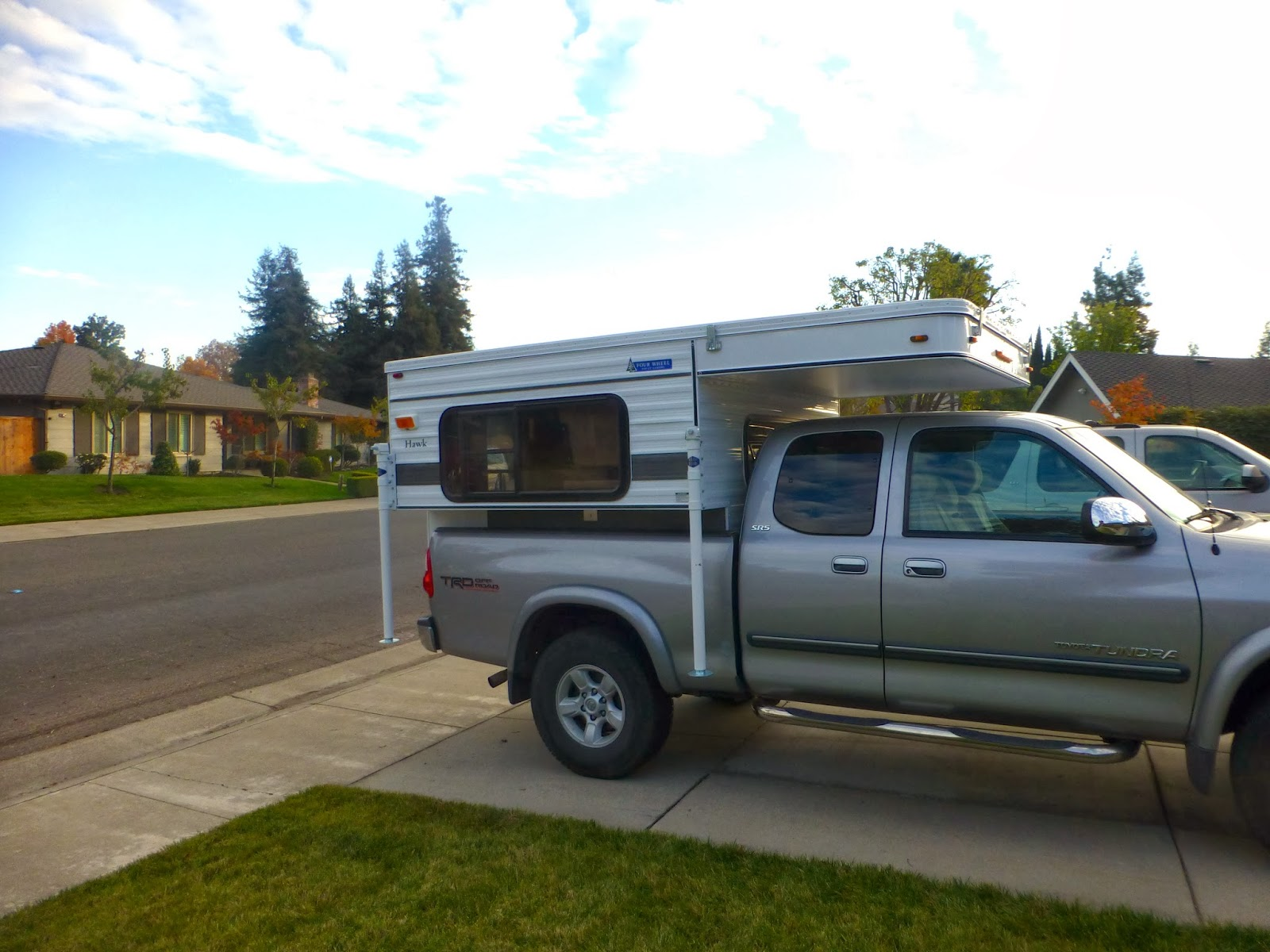 Bill and Veronica's Trip Blog: Our New Camper, inside build