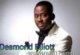 Desmond Elliot pictured enjoying bread and beans with fan by the road side